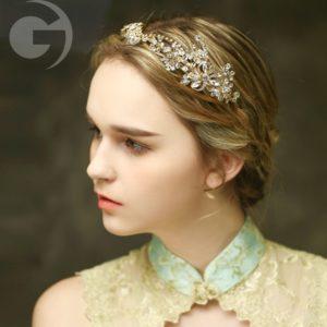 Phaedra Headpiece Gold