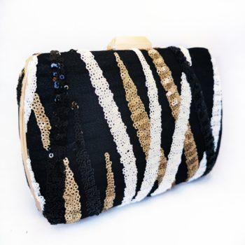 Zita Gold Stripe